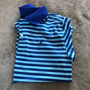 Nautica Boys Athletic Polo size Large or 7. NWOT.